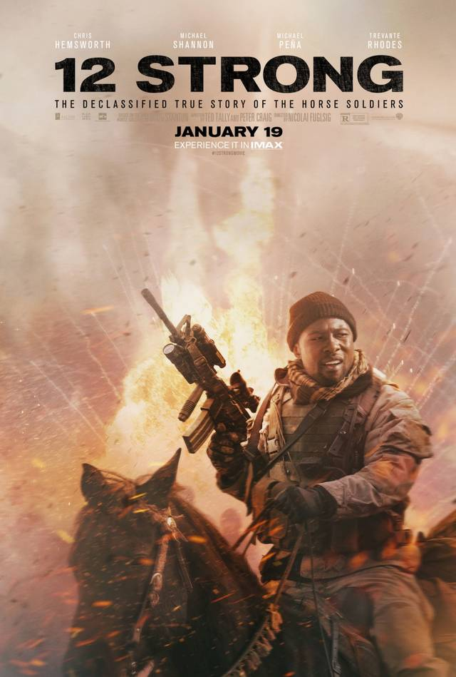 12 Strong Teaser Character Poster USA 3