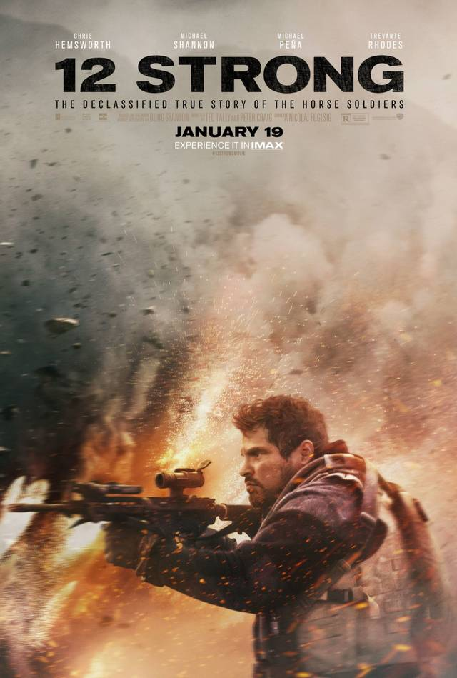 12 Strong Teaser Character Poster USA 4