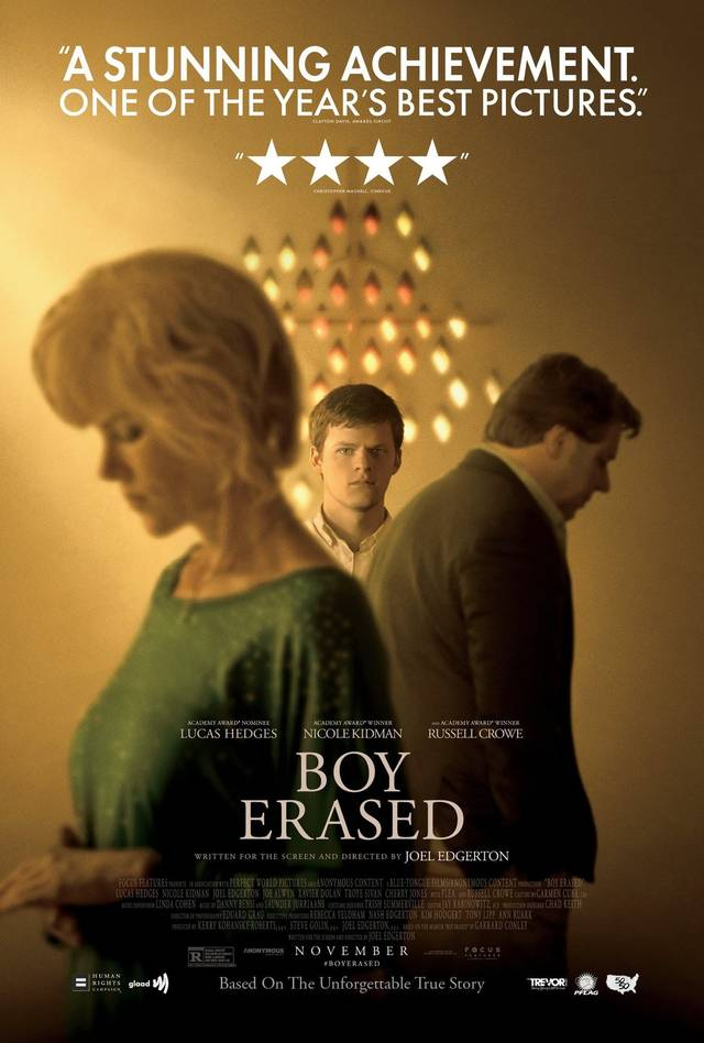 Boy Erased Poster USA