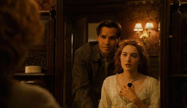 Titanic Kate Winslet Billy Zane foto dal film 2