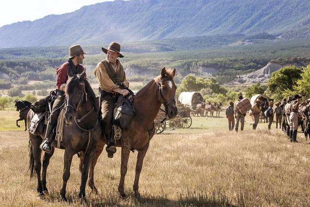 The Sisters Brothers John C. Reilly Joaquin Phoenix foto dal film 2