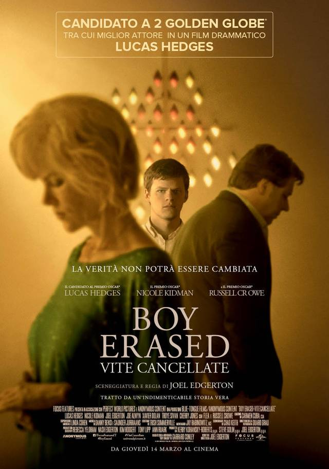 Boy Erased Poster Italia