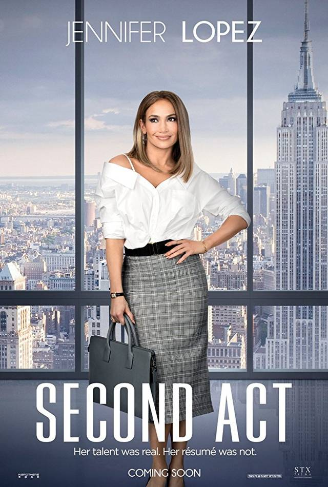 Second Act Teaser Poster USA