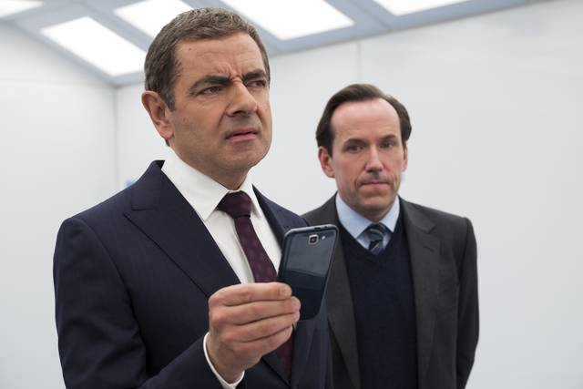 Johnny English Colpisce Ancora_Rowan Atkinson Ben Miller_foto dal film 1