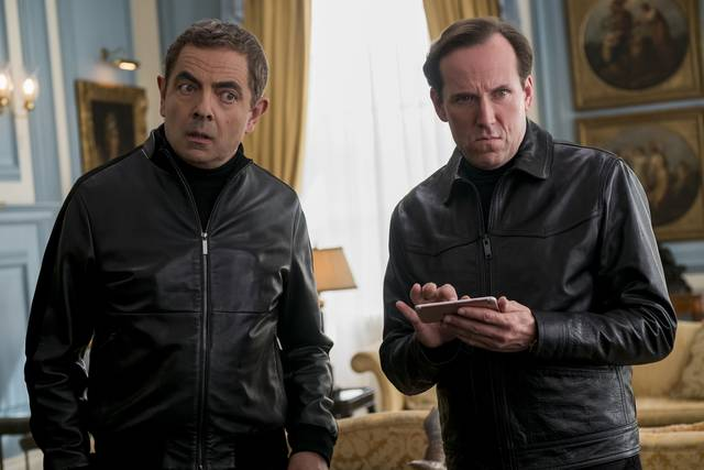 Johnny English Colpisce Ancora_Rowan Atkinson Ben Miller_foto dal film 3