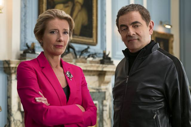 Johnny English Colpisce Ancora_Rowan Atkinson Emma Thompson_foto dal film 1