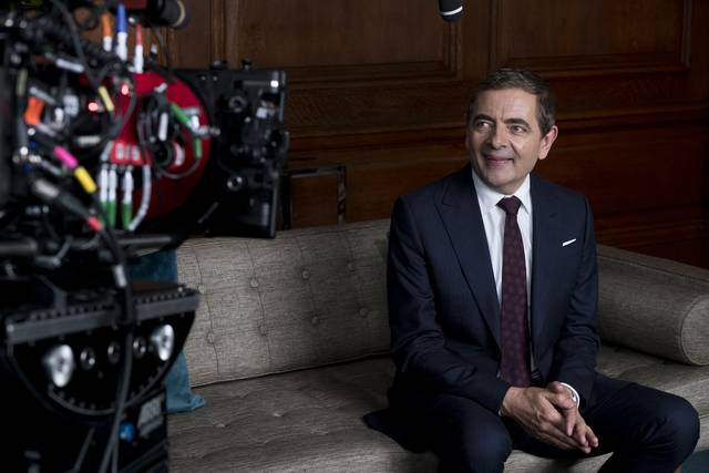 Johnny English Colpisce Ancora_Rowan Atkinson_foto dal set 1