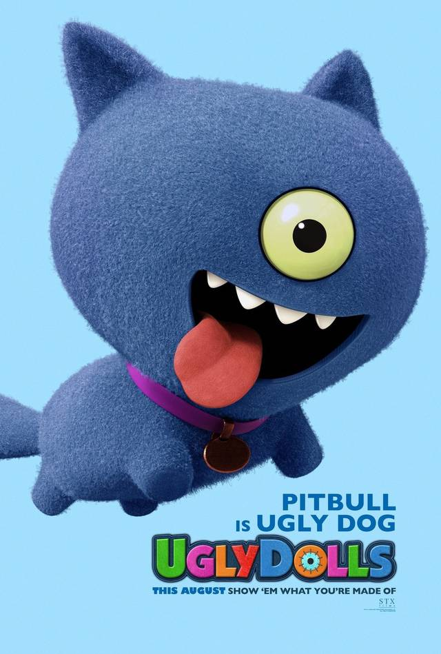 Ugly Dolls Teaser Character Poster USA 2