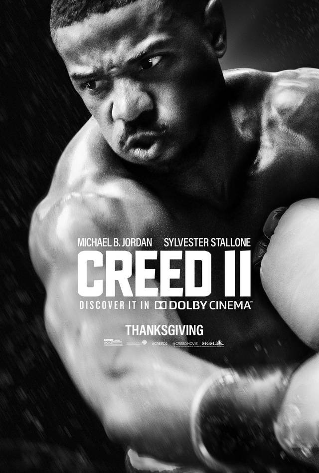 Creed II Teaser Thanksgiving Poster USA