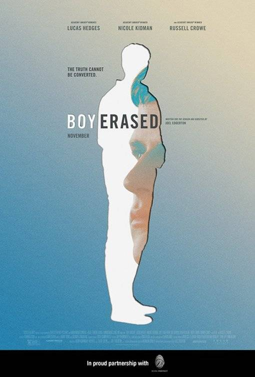 Boy Erased Teaser Poster USA 1