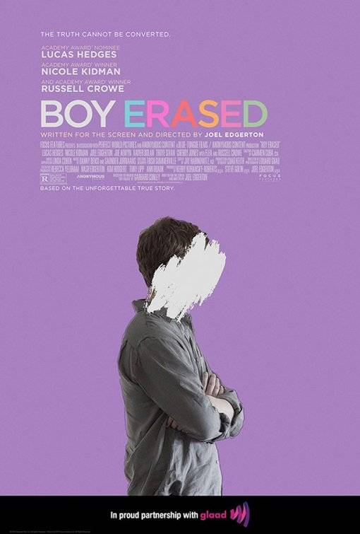 Boy Erased Teaser Poster USA 2