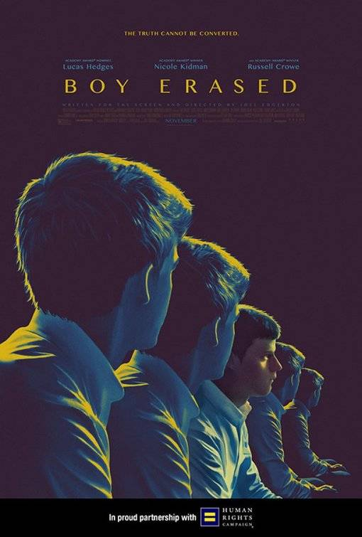 Boy Erased Teaser Poster USA 3