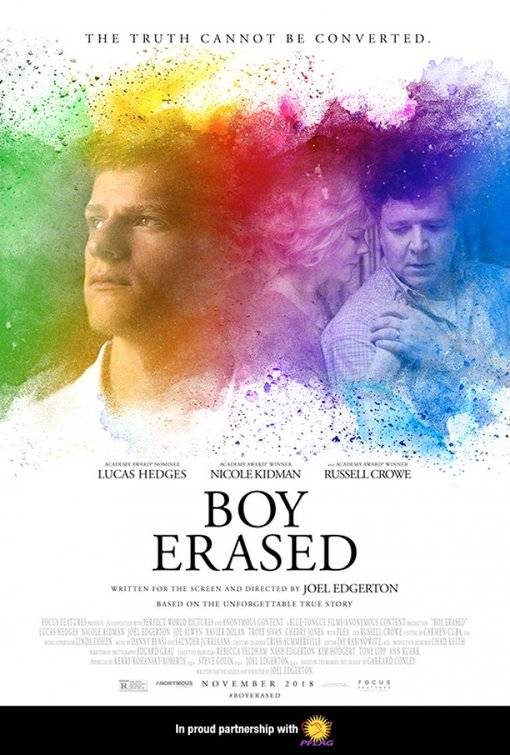 Boy Erased Teaser Poster USA 6