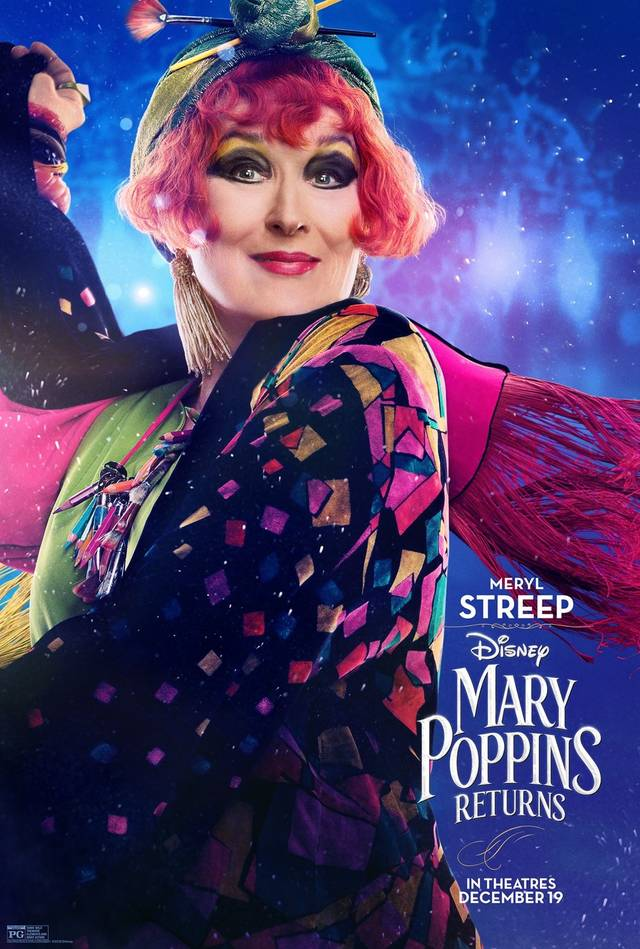 Il Ritorno di Mary Poppins Teaser Character Poster USA 3