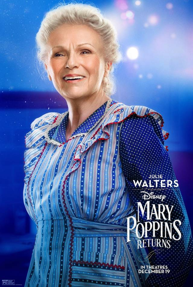 Il Ritorno di Mary Poppins Teaser Character Poster USA 4