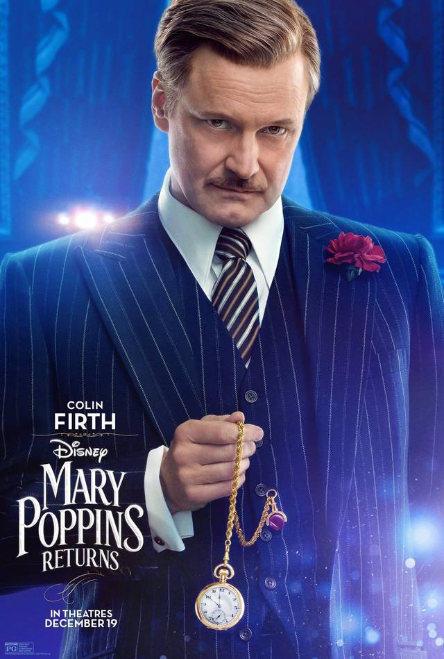 Il Ritorno di Mary Poppins Teaser Character Poster USA 5