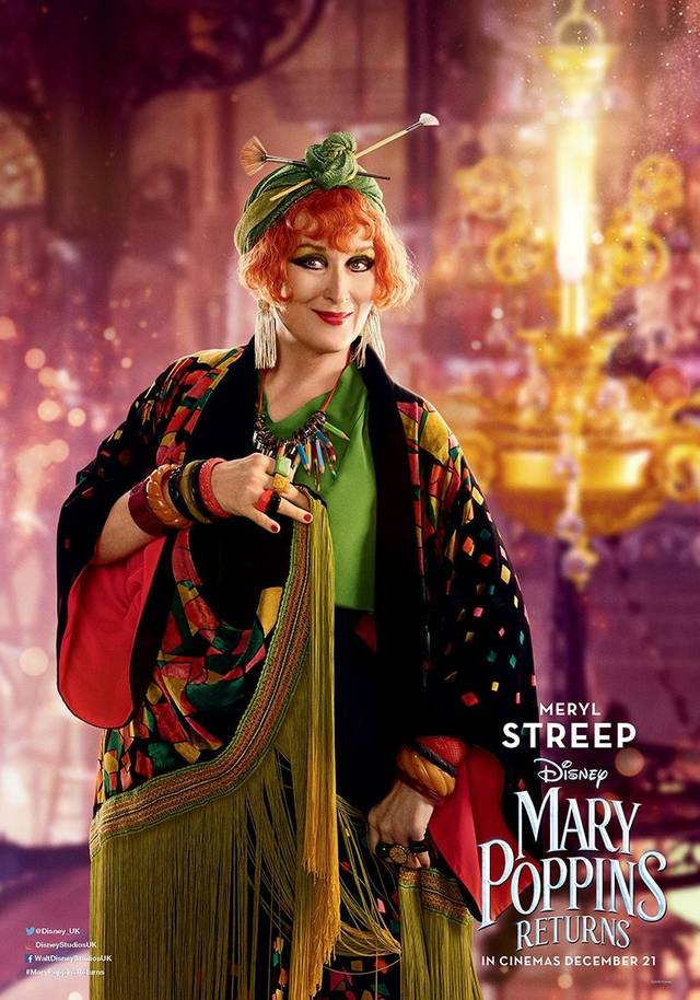 Il Ritorno di Mary Poppins Teaser Character Poster USA 6