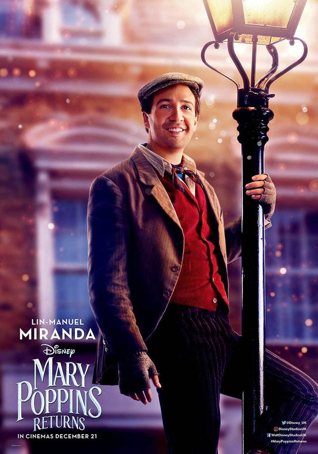 Il Ritorno di Mary Poppins Teaser Character Poster USA 7