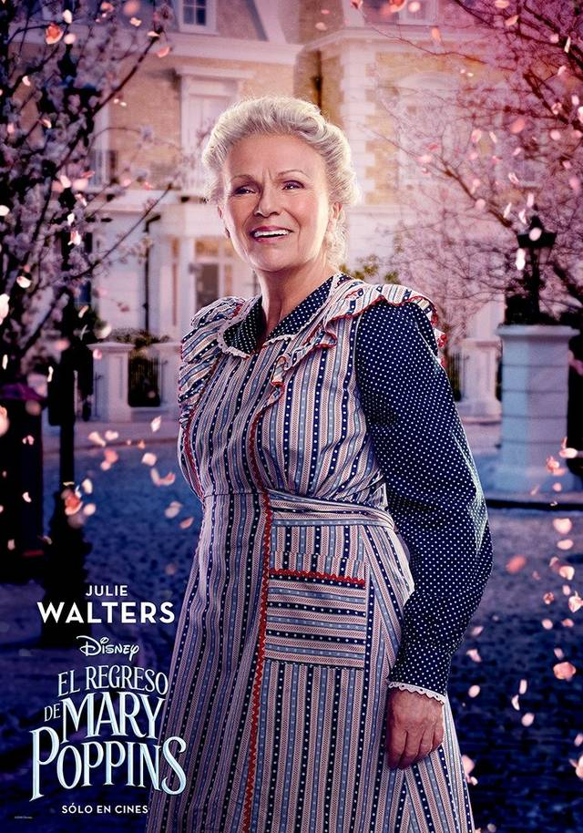 Il Ritorno di Mary Poppins Teaser Character Poster USA 9