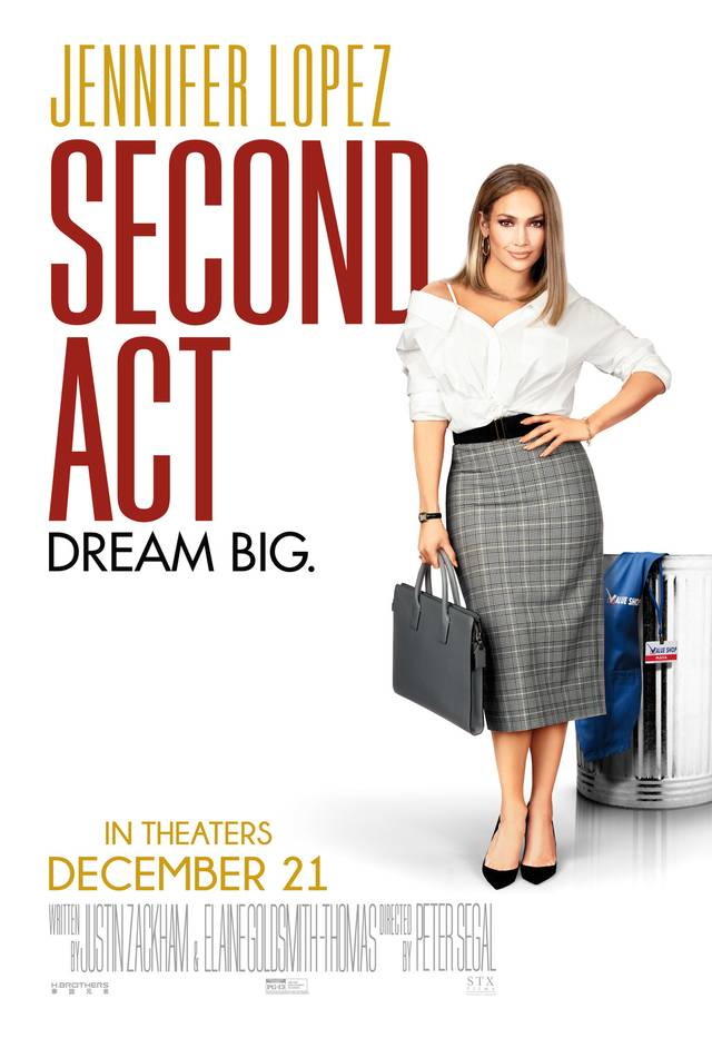 Second Act Teaser Poster USA 2