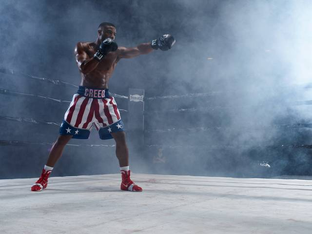 Creed II - Michael Bakari Jordan_foto dal film 2