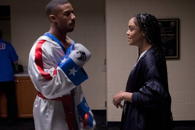 Creed II - Tessa Thompson Michael Bakari Jordan_foto dal film 1