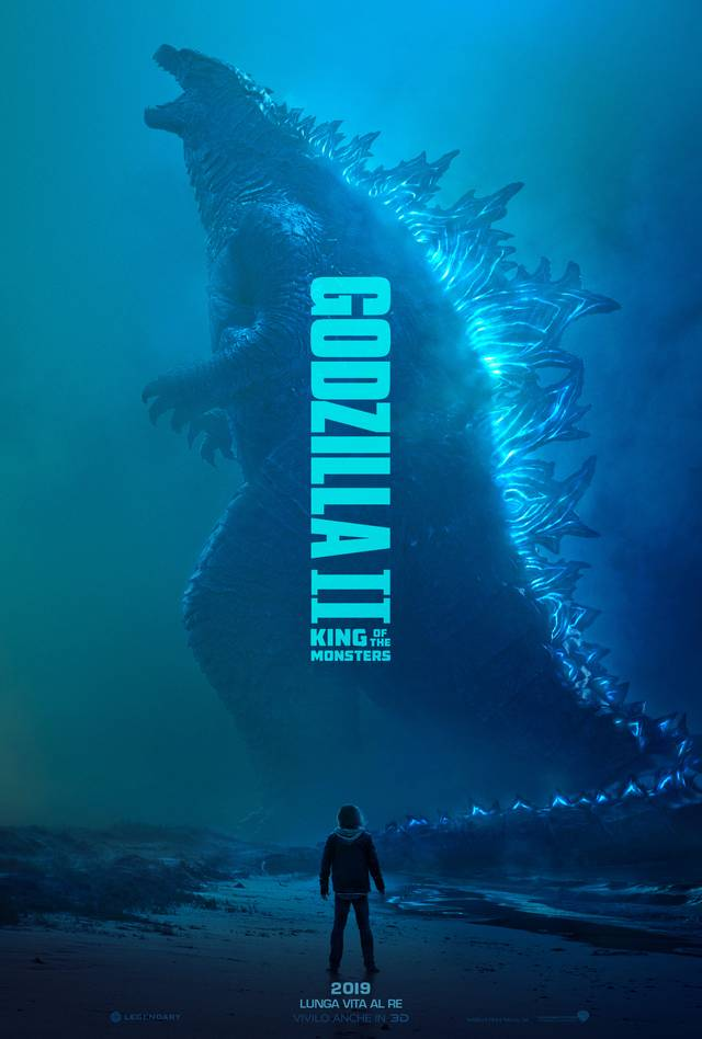 Godzilla II King of the Monsters_Teaser Poster Italia