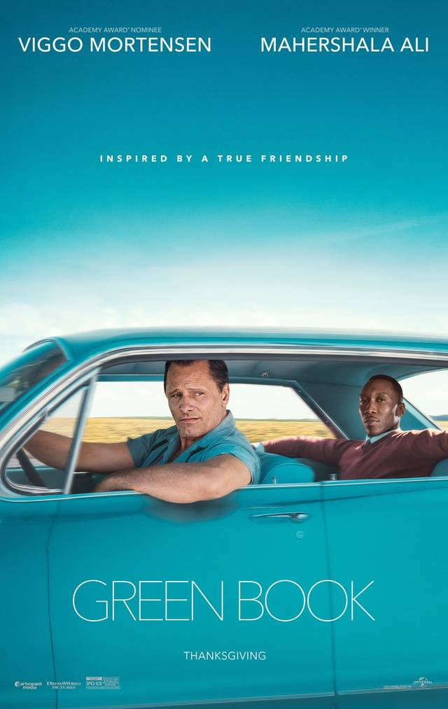 Green Book Teaser Poster USA