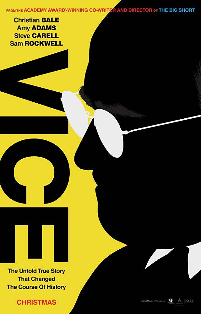 Vice - L'uomo nell'ombra Teaser Poster USA
