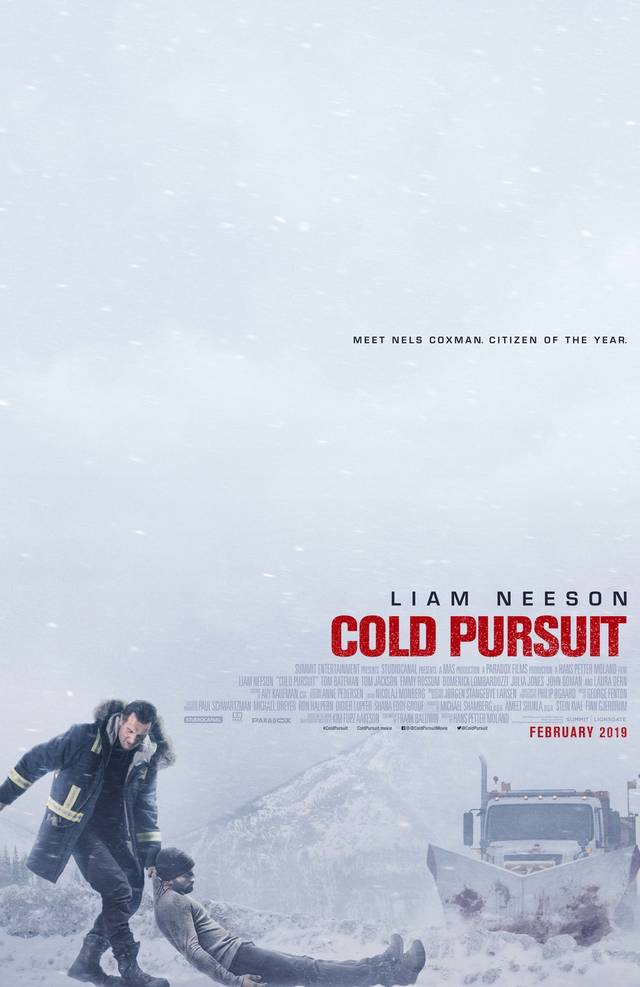 Cold Pursuit Teaser Poster USA 1