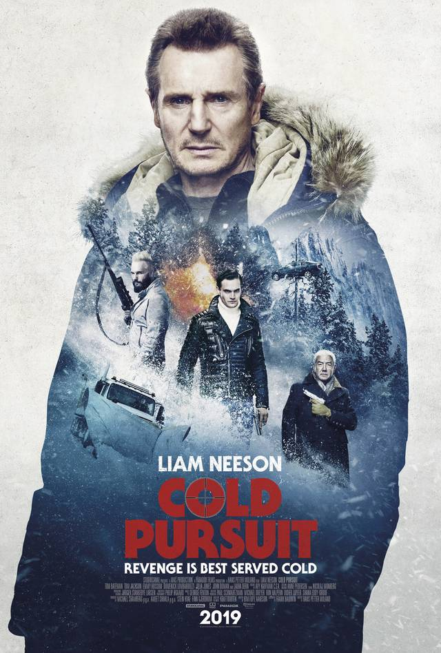 Cold Pursuit Teaser Poster USA 2