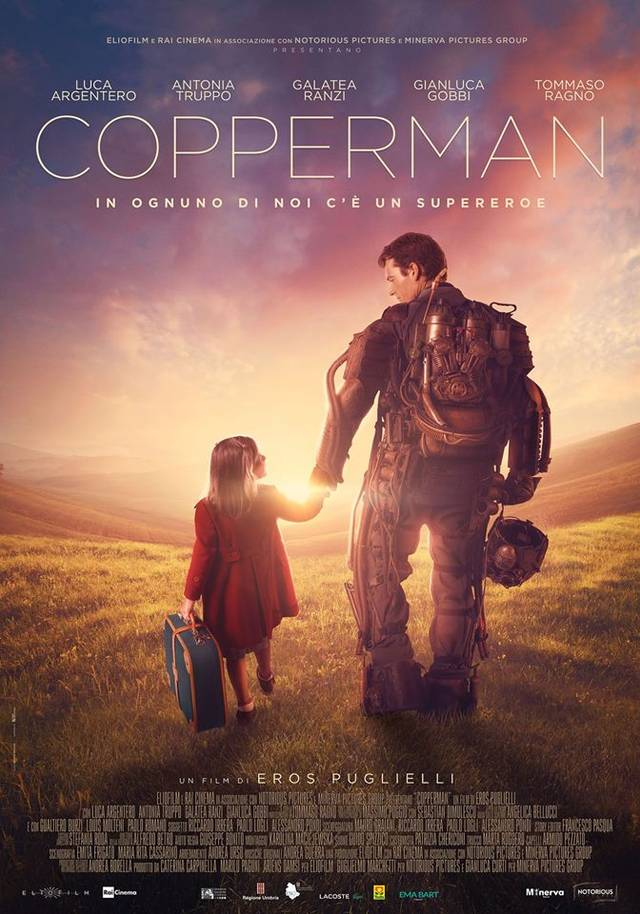 Copperman Poster Italia