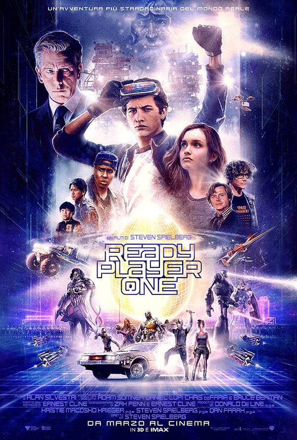 Ready Player One Teaser Poster Italia 2