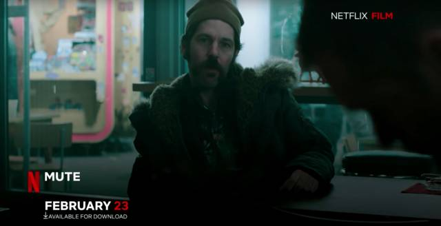 Mute Paul Rudd foto dal film 2