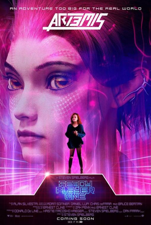 Ready Player One Teaser Character Poster USA 3