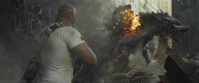 Rampage - Furia animale_Dwayne Johnson_foto dal film 8