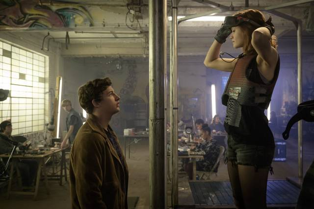 Ready Player One_Olivia Cooke Tye Sheridan_foto dal film 8
