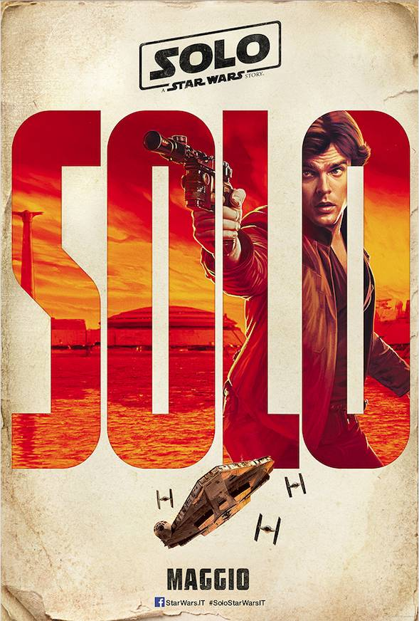 Solo - A Star Wars Story Teaser Character Poster Italia 2