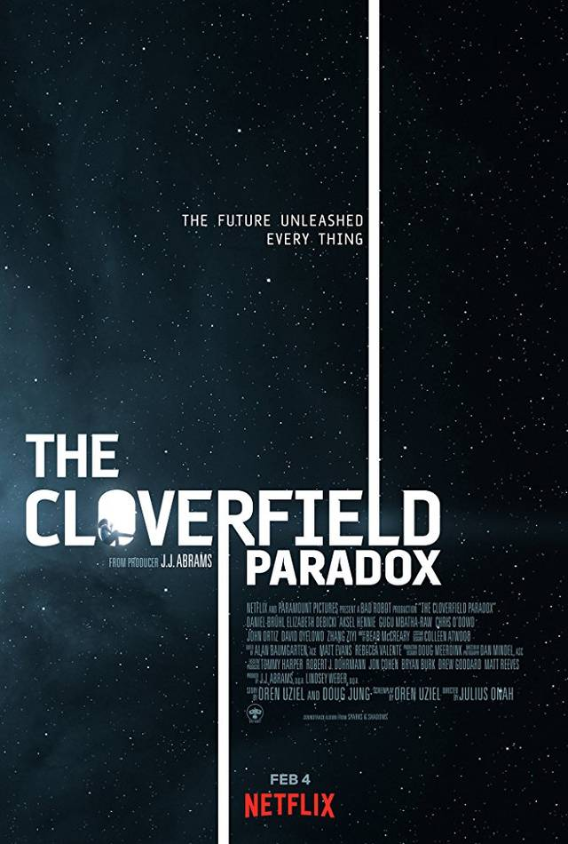 The Cloverfield Paradox Poster Internazionale