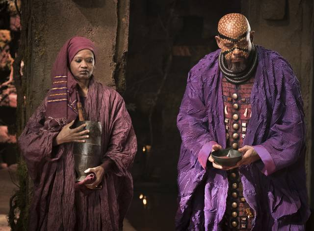 Black Panther Forest Whitaker foto dal film 3