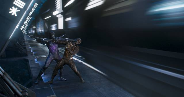 Black Panther foto dal film 2