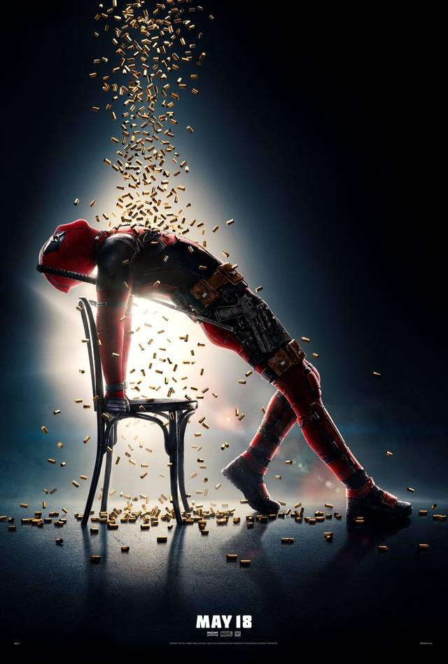 Deadpool 2 poster flashdance