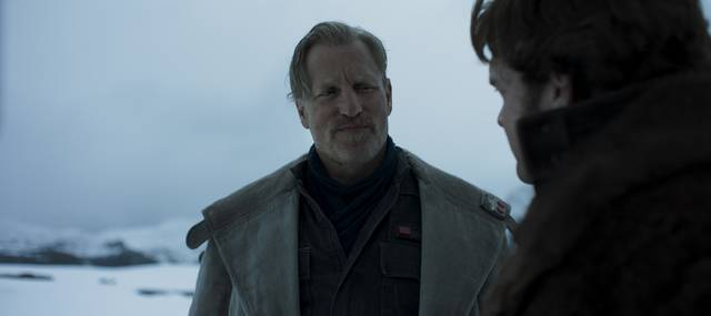 Solo - A Star Wars Story Woody Harrelson foto dal film 1