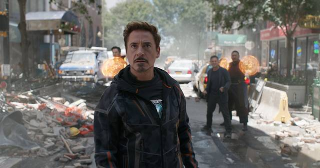 Avengers - Infinity War Robert Downey Jr. foto dal film 2