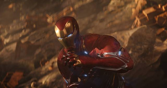 Avengers - Infinity War Robert Downey Jr. foto dal film 3