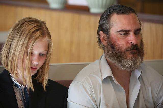 You Were Never Really Here Ekaterina Samsonov Joaquin Phoenix foto dal film 1