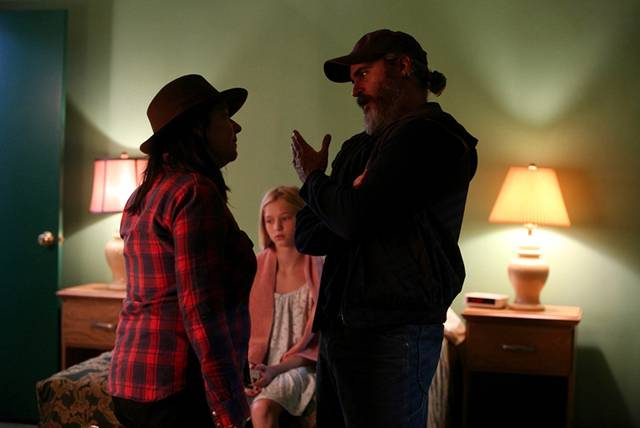 You Were Never Really Here Joaquin Phoenix Lynne Ramsay Ekaterina Samsonov foto dal set del film 2