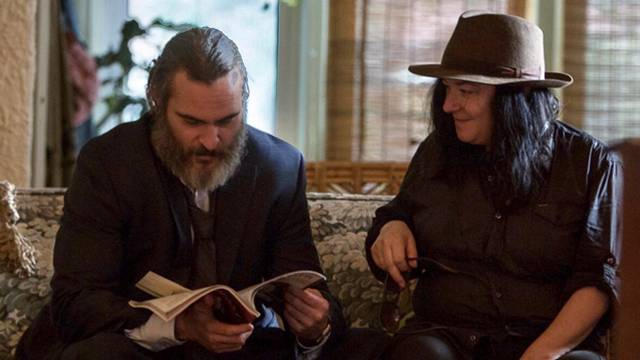 You Were Never Really Here Joaquin Phoenix Lynne Ramsay foto dal set del film 1