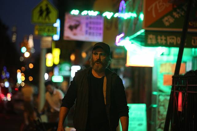 You Were Never Really Here Joaquin Phoenix foto dal film 1