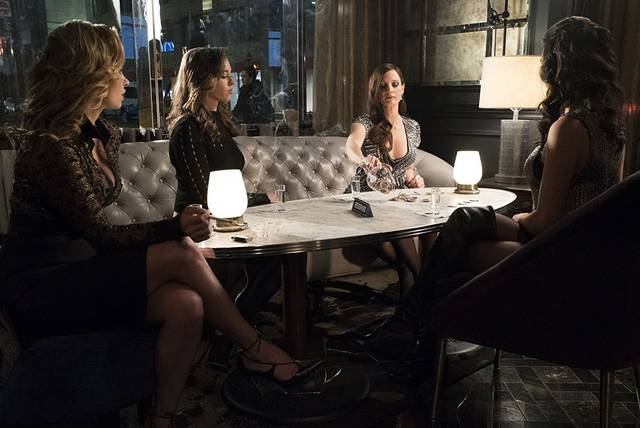 Molly's Game Jessica Chastain Stephanie Herfield foto dal film 1